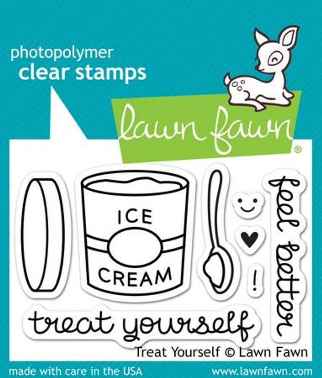 Lawn Fawn - Treat Yourself Stamps