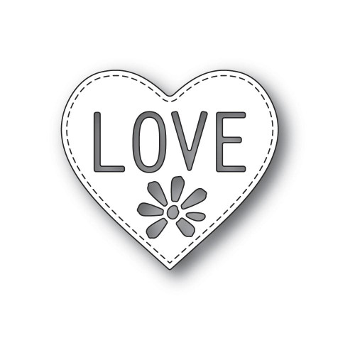 Poppystamps - Dies - Love Heart