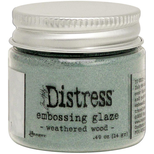 Distress - Embossing Glaze - Weathered Wood