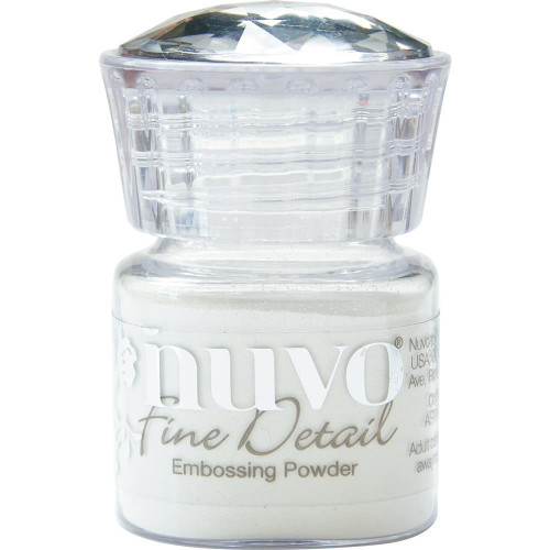 Nuvo - Fine Detail Embossing Powder - Glacier White