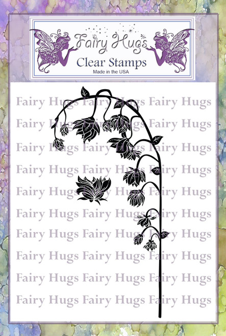 Fairy Hugs Stamps - Fairy Lily