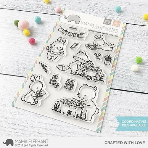 Mama Elephant - Crafted With Love Stamps