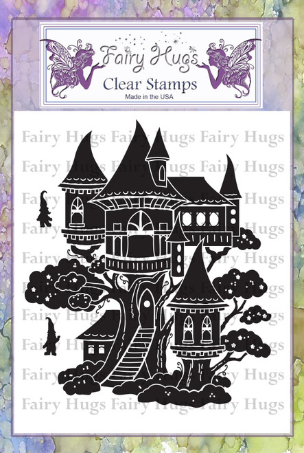 Fairy Hugs Stamps - Gnome Mansion