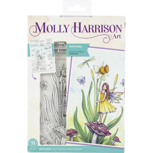 Crafter's Companion - Clear Stamps - Daffodil