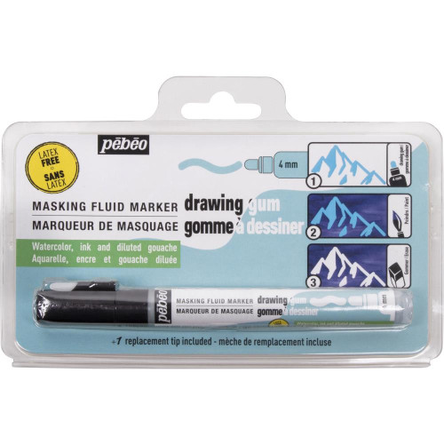 Pebeo Drawing Gum Marker - 4mm
