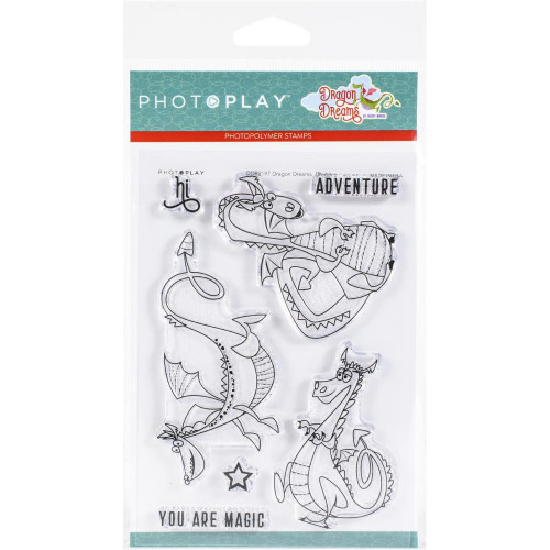 Photoplay - Clear Stamps - Dragons