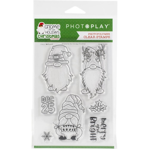 Photoplay - Clear Stamps - Gnome For Christmas