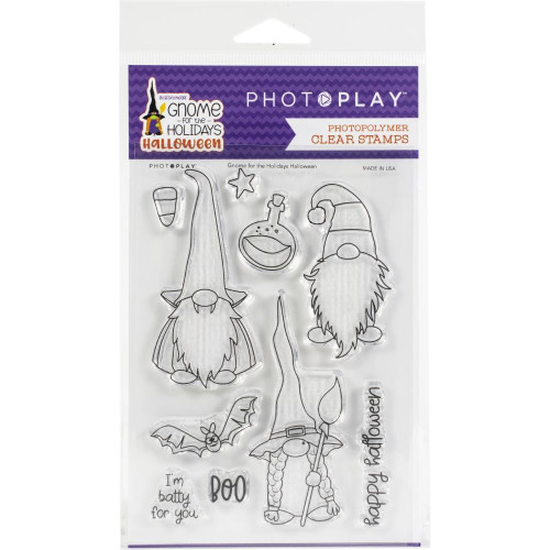 Photoplay - Clear Stamps - Gnome For Halloween