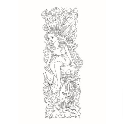 Sweet Dixie - Clear Stamps - Fairy Number 1