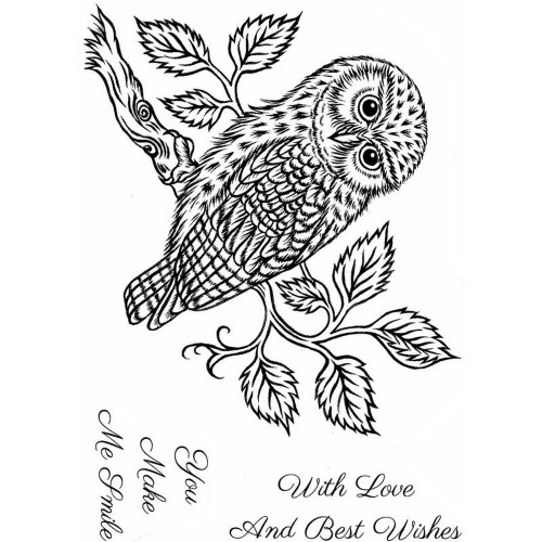 Sweet Dixie - Clear Stamps - Little Owl