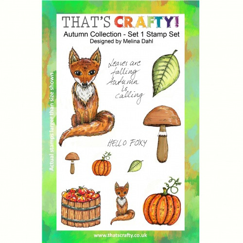 That's Crafty! - Clear Stamps Set - Autumn Collection - Set 1