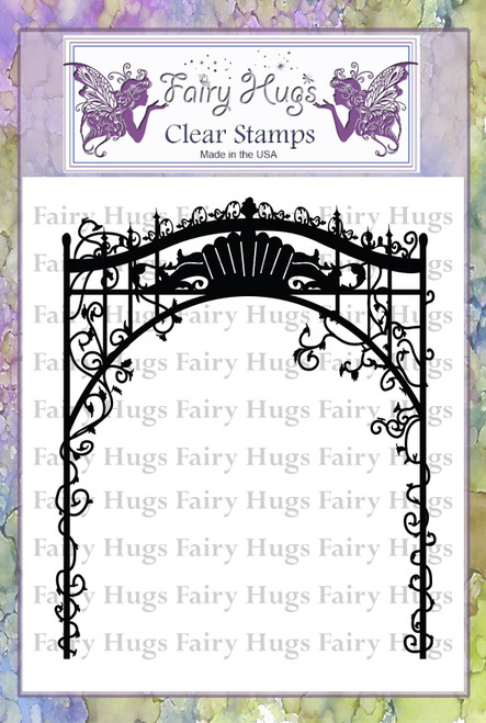 Fairy Hugs Stamps - Fairy Gate