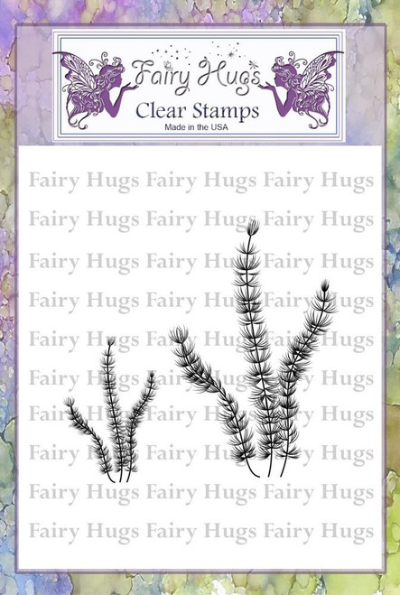 Fairy Hugs Stamps - Frilly Seaweed
