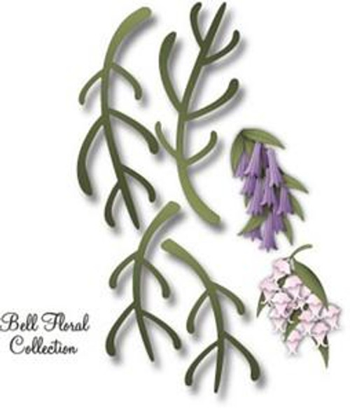 Dee's Distinctively Dies - Bell Floral Stem 1
