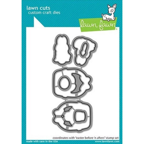 Lawn Fawn - Easter Before 'n Afters Dies