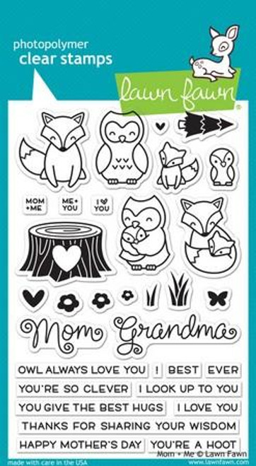 Lawn Fawn - Mom + Me Stamps