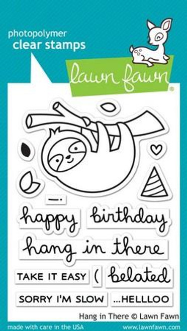 Lawn Fawn - Hang In There Stamps