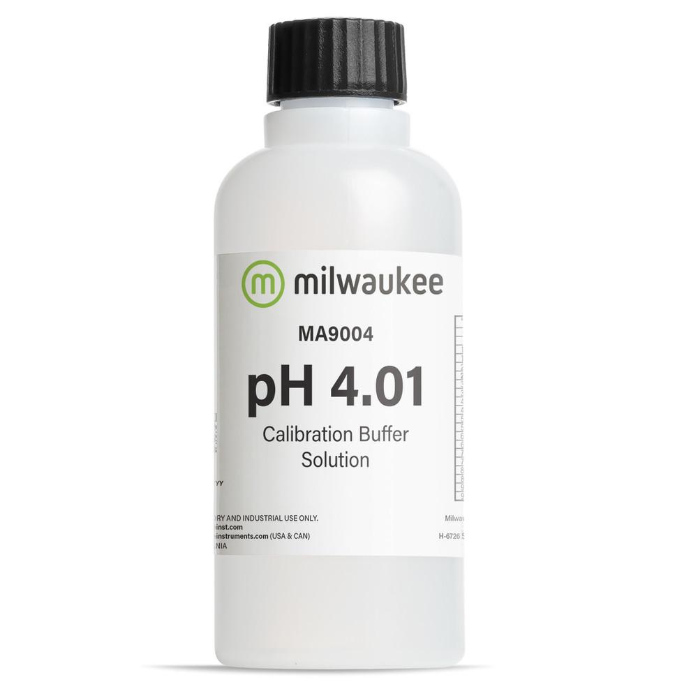Milwaukee MA9004 pH 4.01 Calibration Solution