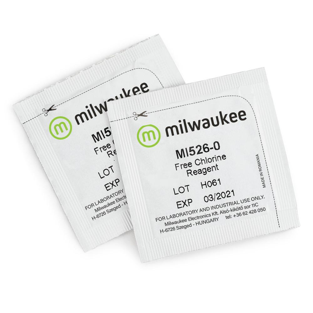 Milwaukee MI526-25 Powder Reagents for Free Chlorine Photometer