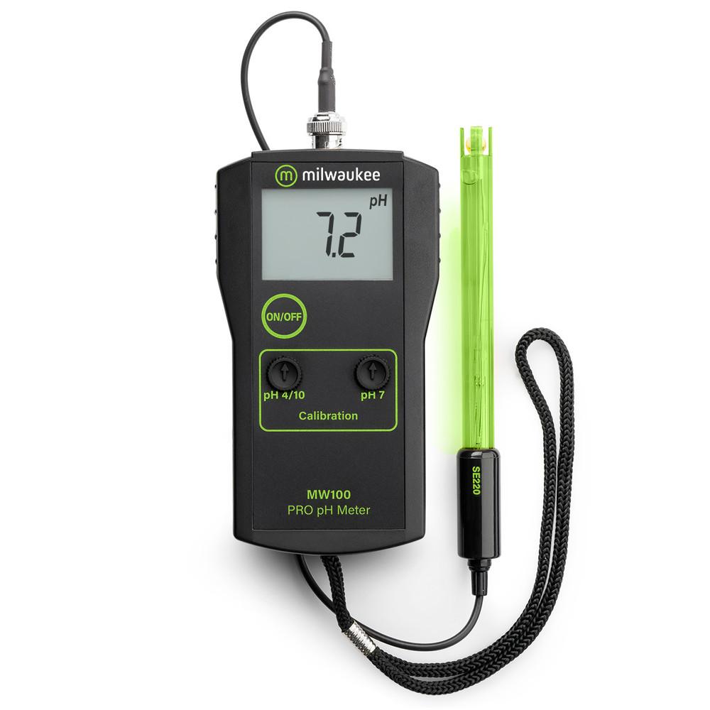 Milwaukee MW100 PRO pH Meter