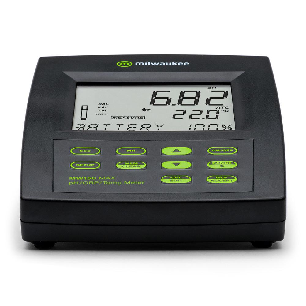 Milwaukee MW150 MAX pH/ORP/Temp Bench Meter