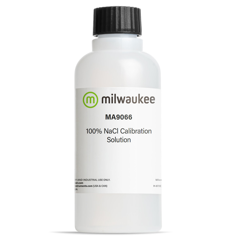 Milwaukee MA9066 100% NaCl Conductivity Solution
