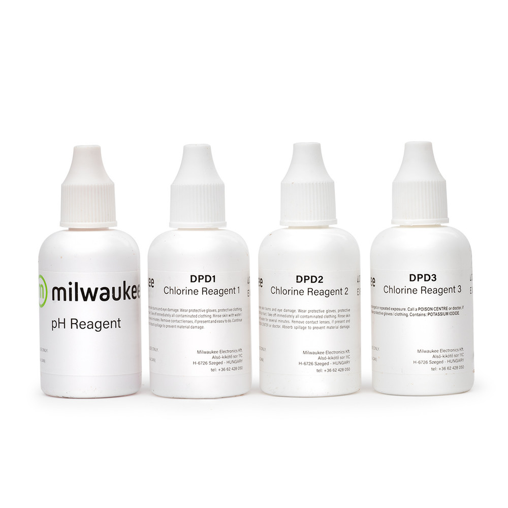 Milwaukee MI511-100 Reagents for Free & Total Chlorine and pH Photometer