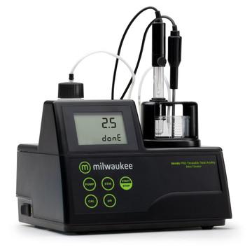 Milwaukee MI456 PRO Mini Titrator for Titratable Acidity in Wine