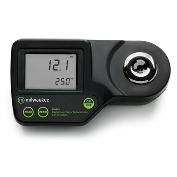 Milwaukee MA881 Digital Refractometer for Invert Sugar