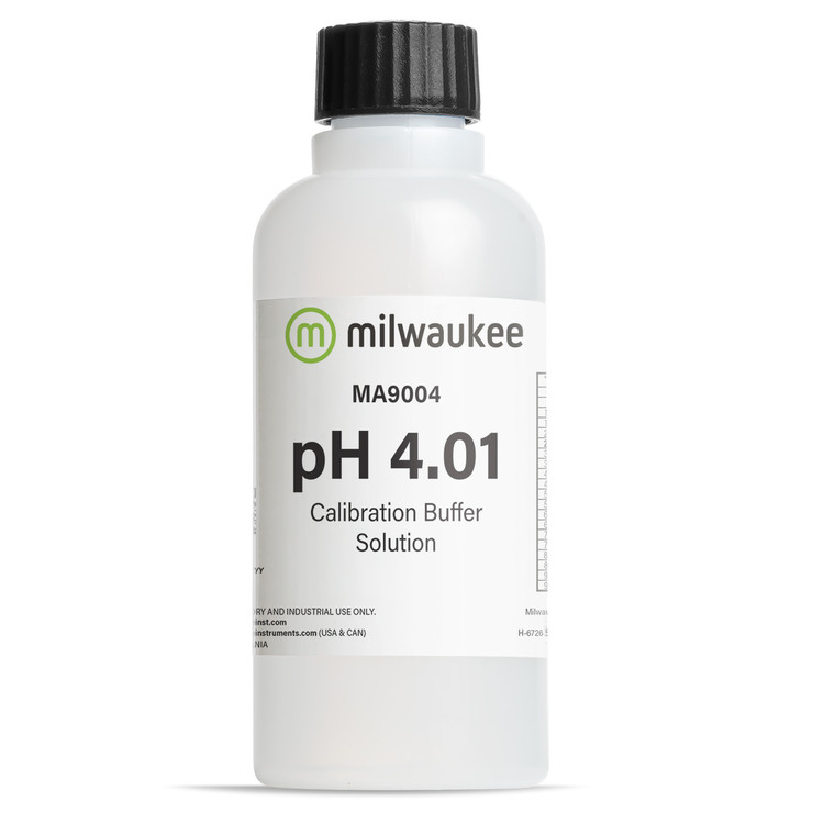 Milwaukee MA9004 pH 4.01 Calibration Solution