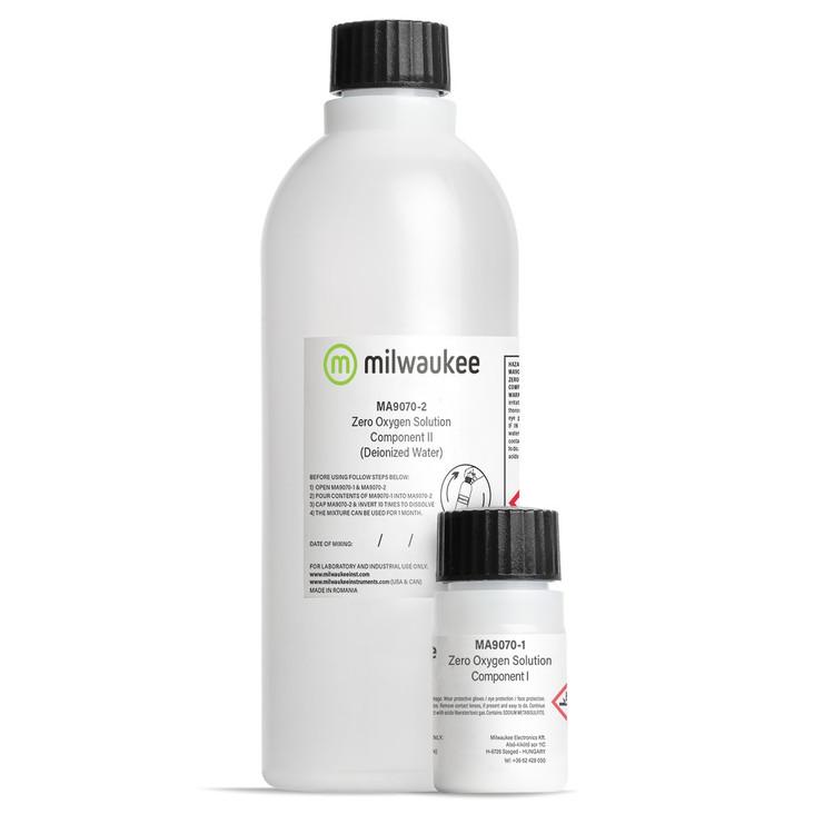 Milwaukee MA9070 Zero Oxygen Calibration Solution Kit