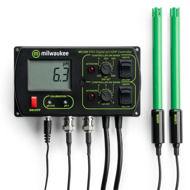 Milwaukee MC125 PRO 2-in-1 Digital pH / ORP Controller