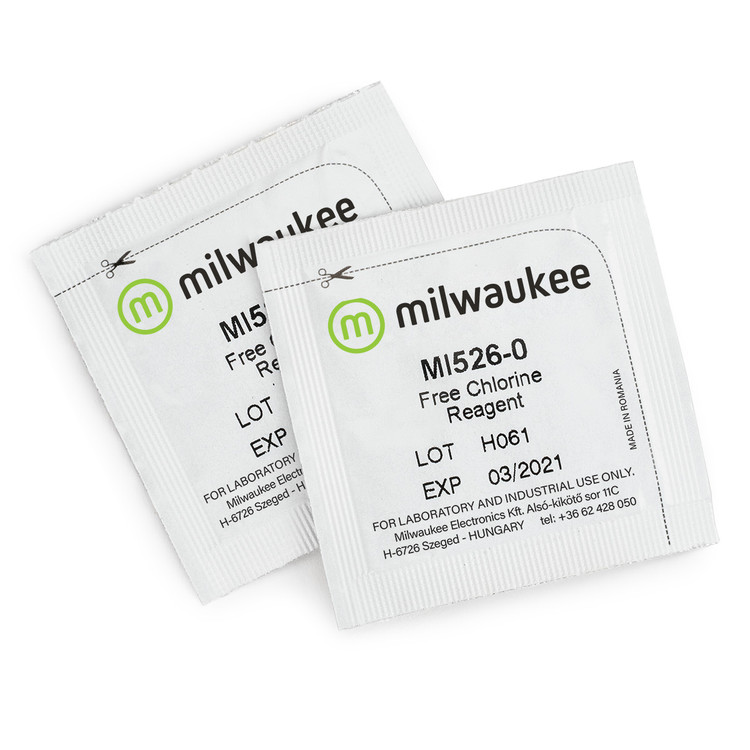 Milwaukee MI526-25 Powder Reagents for Free Chlorine Photometer