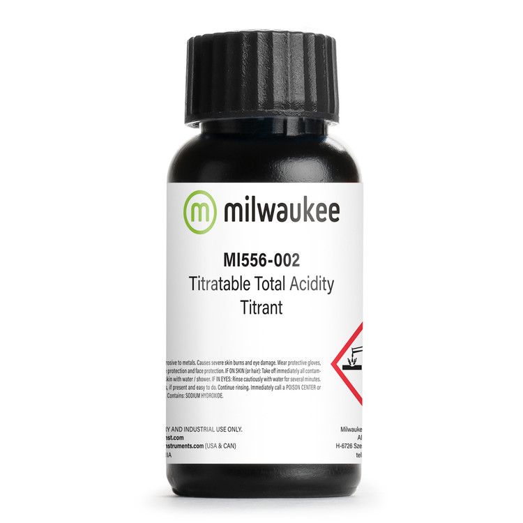 Milwaukee MI556-002 Titrant TA for MI456 Mini Titrator (100 mL bottle)