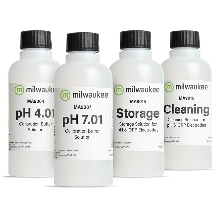 Milwaukee PH-START Starter Solution Kit for pH Meters and Testers