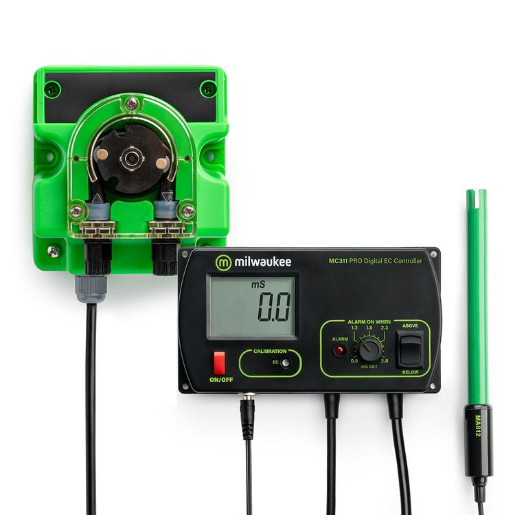 Milwaukee MC740 PRO Conductivity (EC) Controller and Pump Kit