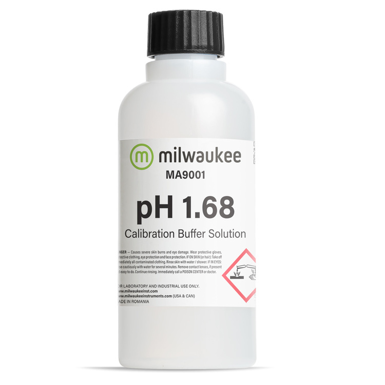Milwaukee MA9001 pH 1.68 Calibration Solution