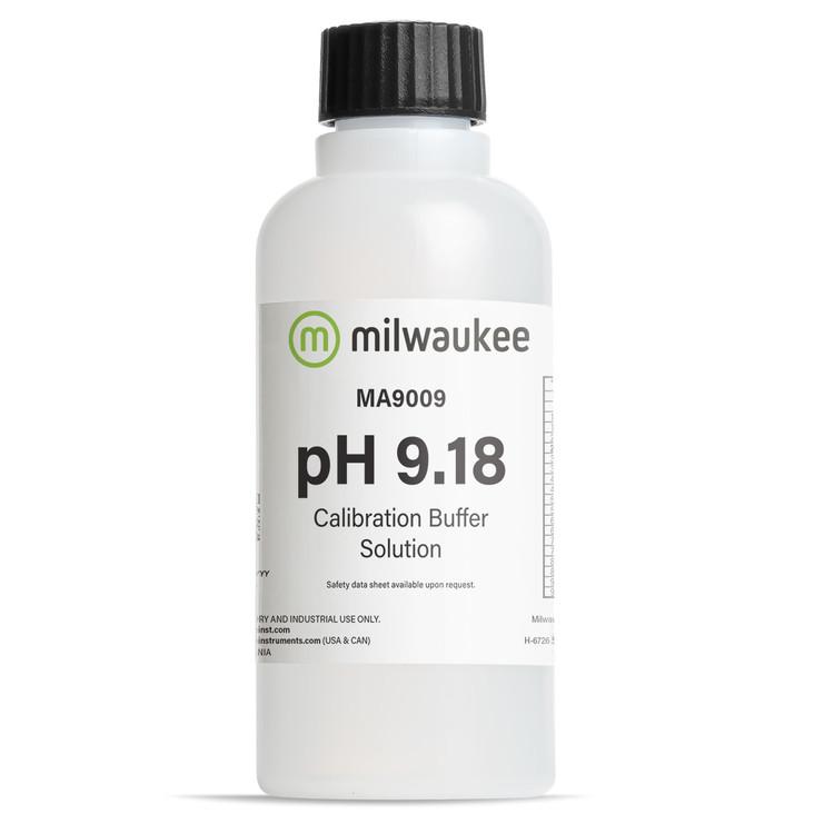 Milwaukee MA9009 pH 9.18 Calibration Solution