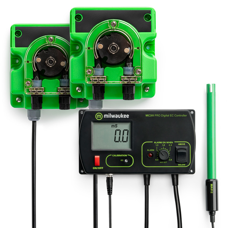Milwaukee MC745 PRO Conductivity (EC) Controller and Pump Kits