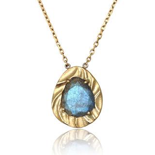 Ocean Dream Pebble Pendant, Fine Art Jewelry by Keiko Mita