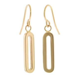 Ragazza Earrings, 14K Yellow Gold by Anit Dodhia