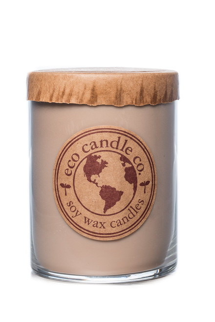 16oz soy eco candle FIREWOOD