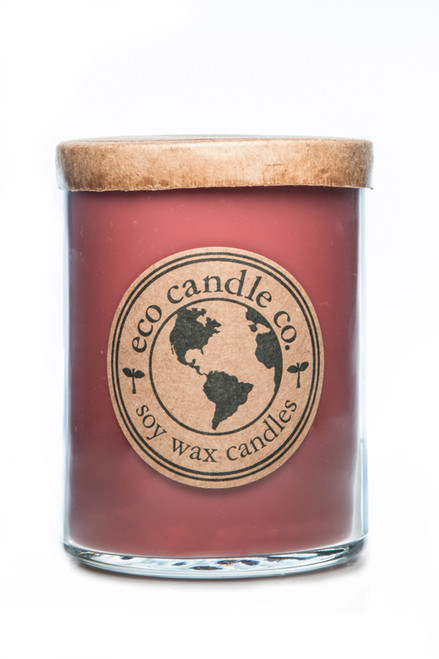 16oz soy eco candle STRAWBERRY RHUBARB