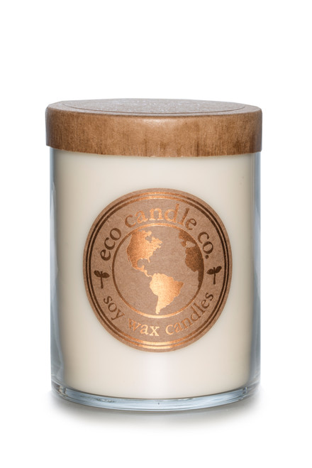 16oz soy eco candle WHITE TEA & GINGER
