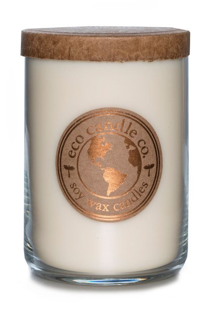 26oz soy eco candle WHITE TEA & GINGER