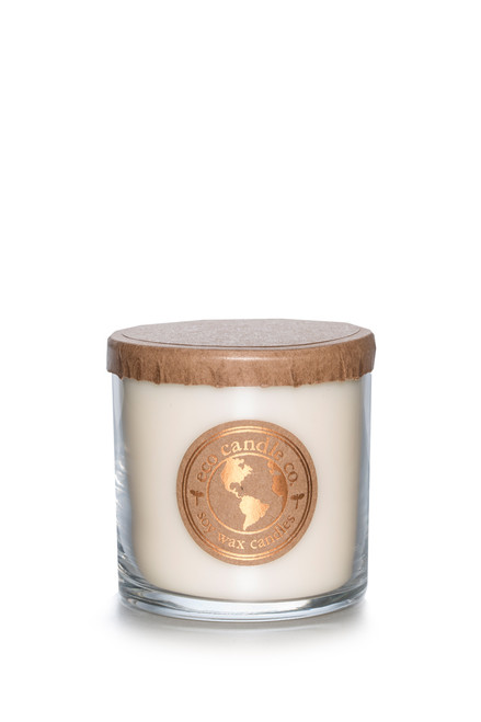 6oz soy eco candle WHITE TEA & GINGER