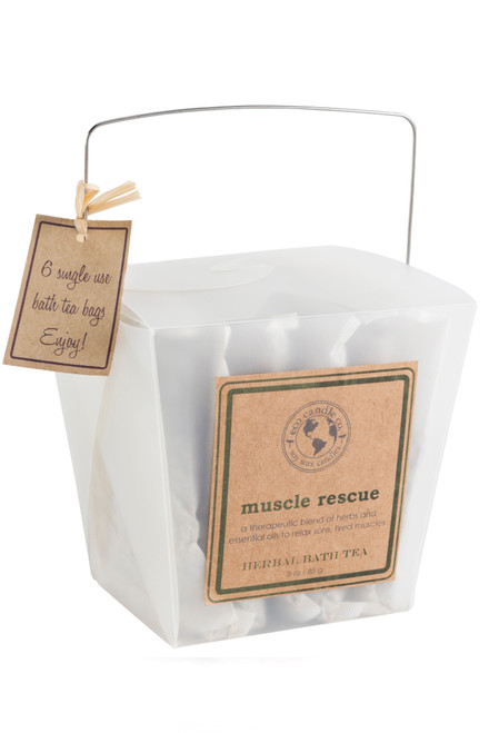 bath tea 6pk MUSCLE RESCUE