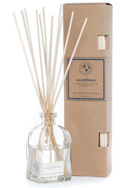reed diffuser SNOWFLAKES