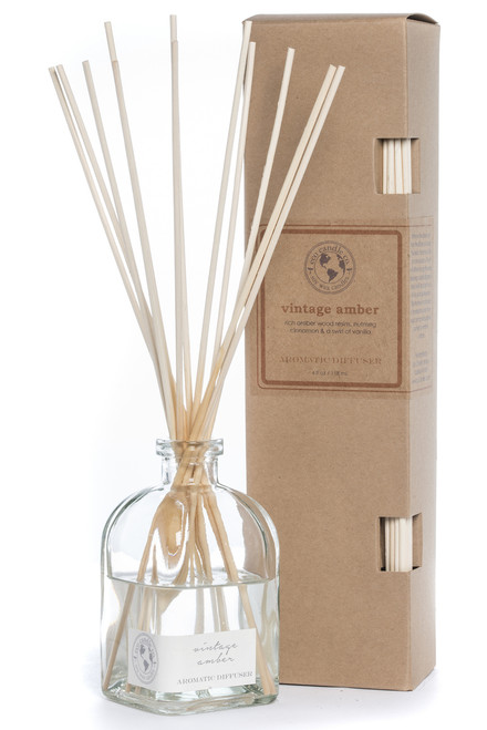 reed diffuser VINTAGE AMBER