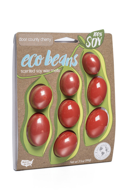 eco beans soy melts door county cherry